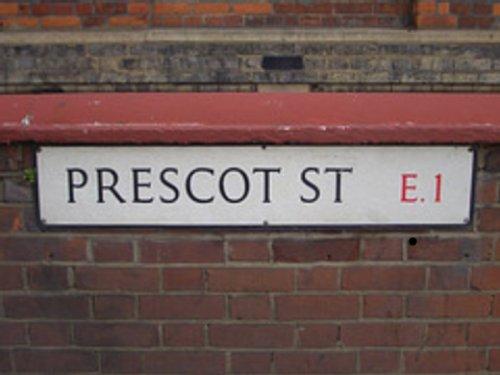 Prescot Street welcome