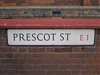 prescot street e1